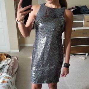 Lauren by Ralph Lauren Sequin Evening Dress, 4P